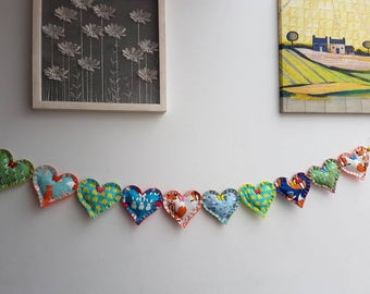 Cute Animal Themed Heart Garland