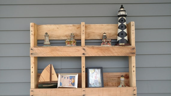 Custom two tiered Pallet Shelving