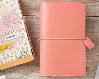 Traveler's Notebook - Webster's Pages Color Crush - Pretty in Pink
