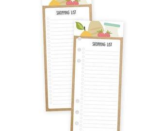 Recipe Shopping List Bookmark Tablet - Carpe Diem