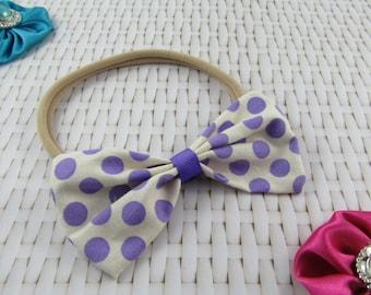 Fabric Bow Headband | Baby / Toddler / Girls | Hair Accessories