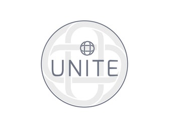 Pre-Made LOGO DESIGN - Customized with Your Name - Unite Logo