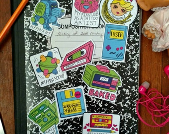 90s Sticker Collection