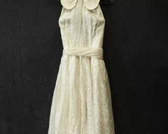 Elegant Halter Dress from the 50's, Wedding