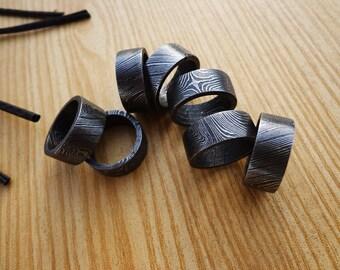 Beautiful Cutom Handmade Damascus Steel Ring
