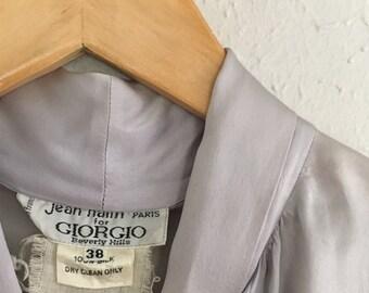 Vintage 100% Silk Blouse