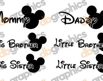 Mouse Family SVG design - Instant Download
