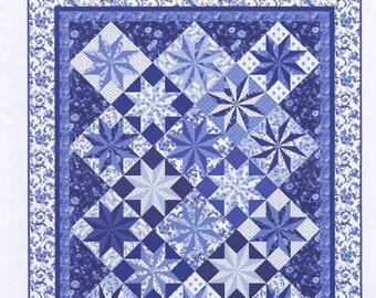Porcelain Prism Quilt Pattern