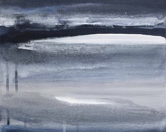 MOOD - Horizon Collection, Original Artwork on Canvas by Sandra Shebitz, Swea Gallery