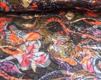Fish Net Fabric Etsy