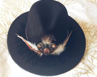 bohemian gypsy hat