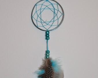 Small Blue Dreamcatcher