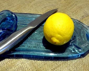 Bombay Sapphire Sliced Lemon/Cheese Dish