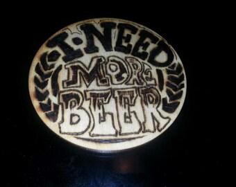 Wood Pad for Beer Mugs