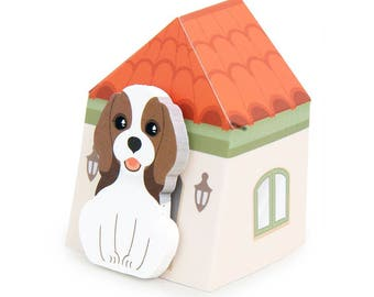 Beagle Puppy Sticky Notes // Coco Beagle Dog Post-It Page Flags // Beagle Bookmark // Beagle Stationery