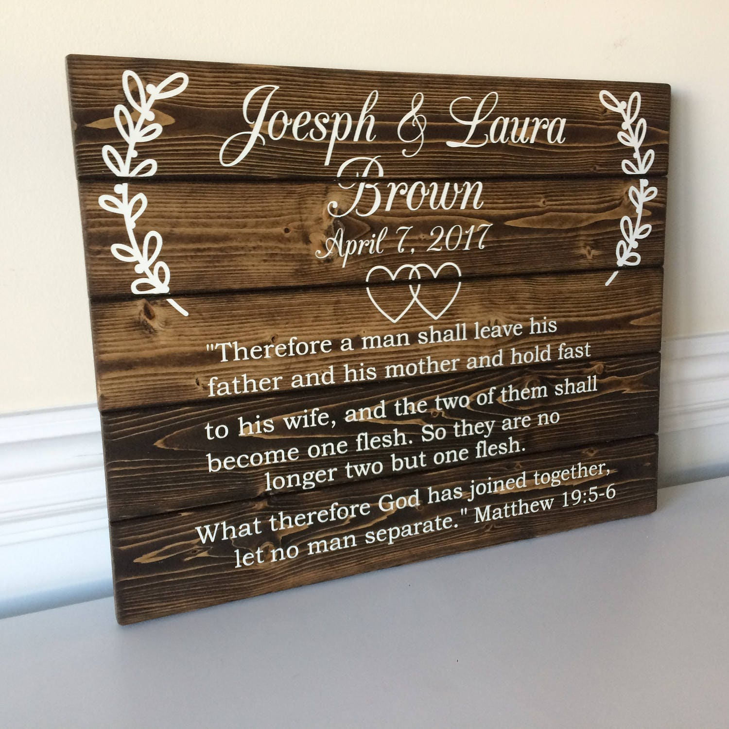 Wood Wedding Gift Ideas: Wedding Wood Signs Wedding Gift Scripture Wood Sign Gift