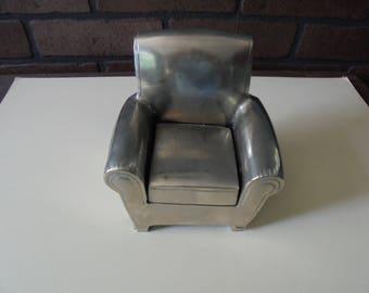 Vintage Metal Chair Paperweight