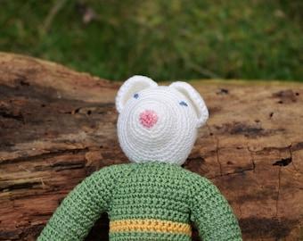Celestine - Handmade crochet Teddy bear