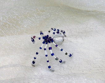 Beaded Spider Lucky Charm