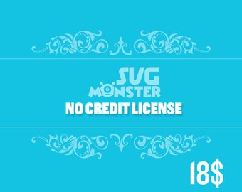 SVG MONSTER no credit required commercial license