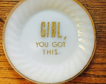 Girl, you got this plate