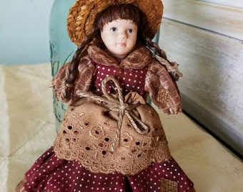 Primitive Prairie Doll