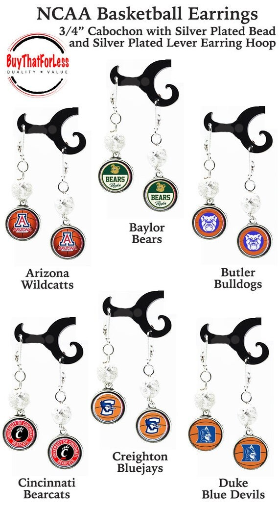 Earrings for COLLEGE Champions!  **FREE U.S. SHIPPING**