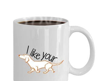 Funny Coffee Mug, Dog Coffee Cup, Funny Gift for Him, Husband Gift, Gift for Boyfriend, Funny Pet Gift, Anniversary Gift, Funny Birthday