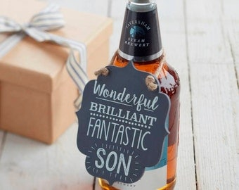 Son Sign - Wooden Son Sign - Son Gift Tag