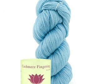 Lot 5,6,7,8,9 piece Yarn 100% Pure Cashmere Fingering Knitting warm & soft, High Quality.