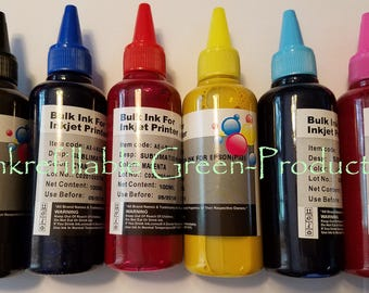 600ml Pigment sublimation Ink for Epson artisan photo 1400 1410 1430 1500W PX650 RX595 R260 R280 R380 RX580 RX680 PX800 PX810FW 1500W