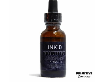 Ink'd Tattoo Oil After Care by Primitive Outpost