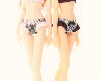 Momoko Doll E Pattern Japanese PDF Lingerie Bra Panties