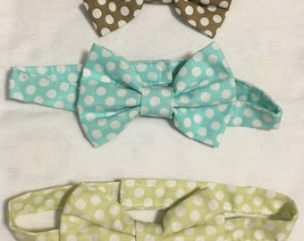 Boys bow ties