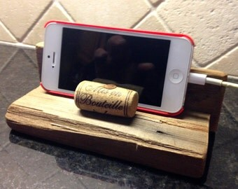 Reclaimed Wood Smart Phone / Card Holder