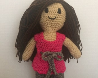 Simple Personalized Crochet Doll