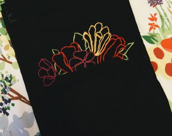 Pocket Bouquet Embroidered T-Shirt