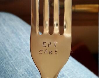 Eat cake fork