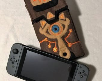 Nintendo Switch Case Nintendo Switch Sleve Case Sheikah Slate Case BOTW Switch Case Link Switch Case Zelda Switch Case