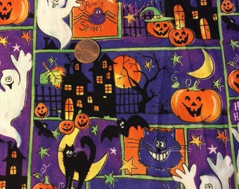 High Quality Halloween Printed Fabric for Sewing or Quilting