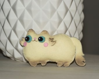 Mini cat stuffed felt
