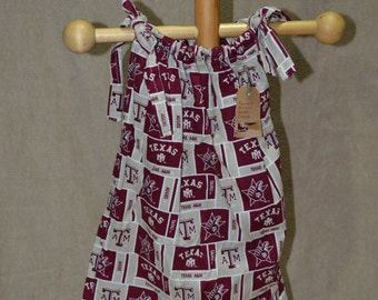 Pillowcase Dress - Texas A&M Print