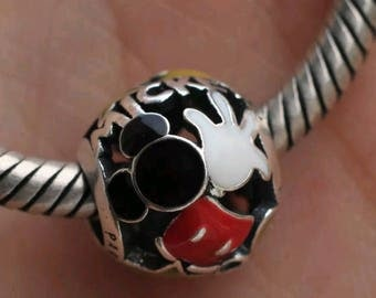 Pandora  Disney Mickey Mania Body Parts Charm/New/Ale/s925/Pan./Fully Stamped