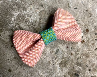 YUMI bow tie-pink | Green