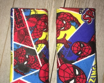 Spiderman Car Seat Strap Covers