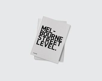 Melbourne Street Level. Stencil Graffiti, Melbourne Graffiti, Graffiti Art, Graffiti Book