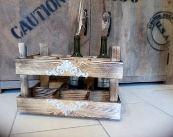 Wine bottle rack, cellar, bottle rack, bottle holder, bottle storage, shelf, box, crate, wooden crate