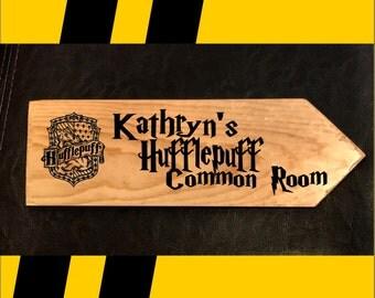 Hufflepuff Common Room Sign