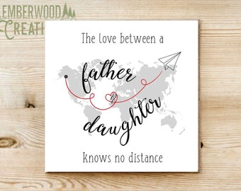 Father daughter - Father's Day card