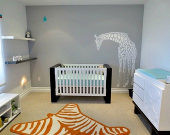 Giraffe Wall Decal For Nursery Or Babyu0027s Room   Nursery Decor   Gender  Neutral Part 62